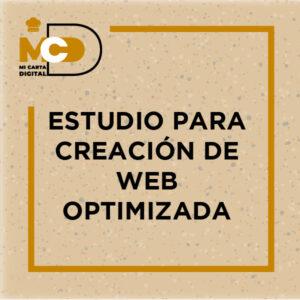 Estudio para creación de Web optimizada