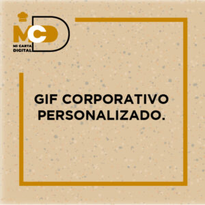 Gif corporativo personalizado