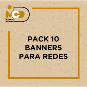 Pack 10 banners para redes