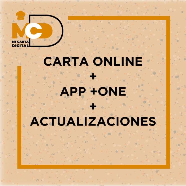 App/web adaptada al negocio del contratante