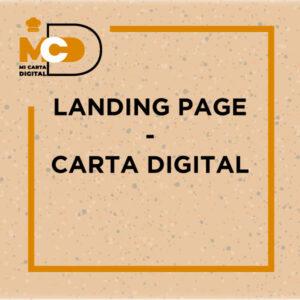 LANDING PAGE - CARTA DIGITAL